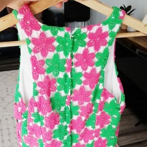 Lilly Pulitzer Dresses - Lilly Pulitzer Crochet Pearl Dress
